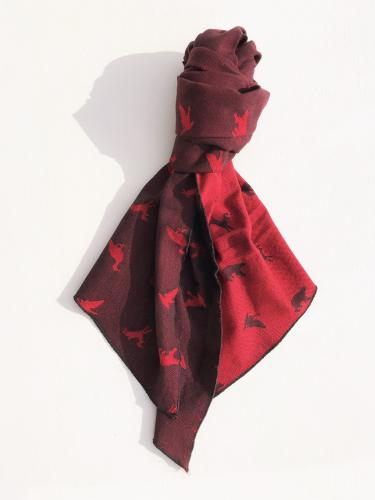 Long Scarf  (Game Animal Jacquard)