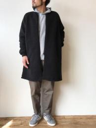 Level 3 Retoro Boa Coat (Black)