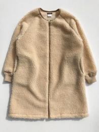 Level 3 Retoro Boa Coat (Beige)