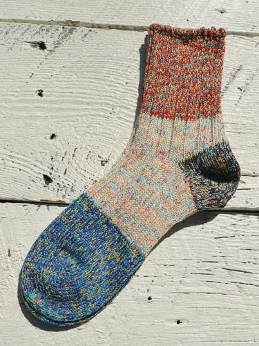 3 Point Panel Socks