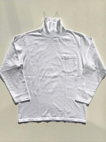 L/S TURTLE NECK POCKET Tee