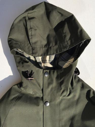 SL Bedale Hooded Casual Jacket (Sage)