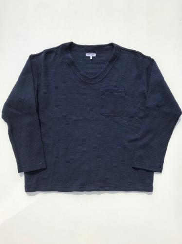 U Neck Pop Over (Cotton Thermal)