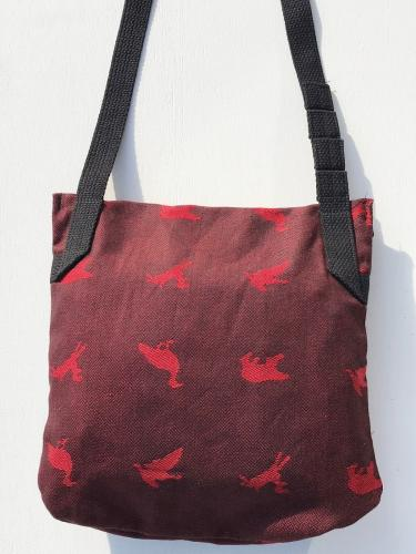 Shoulder Pouch (Game Animal Jacquard)