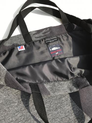 Carry All Tote w/Strap (Animal Wool Jacqurd)