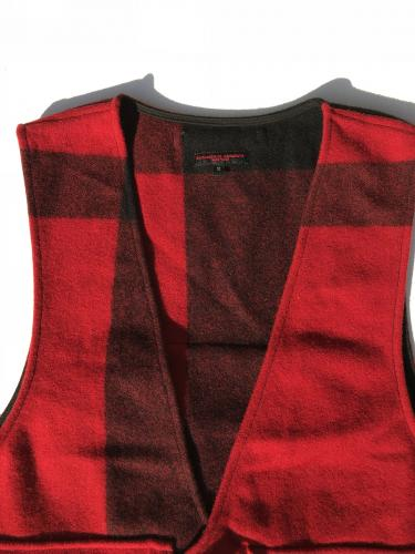 Fowl Vest (Big Plaid Wool Melton)