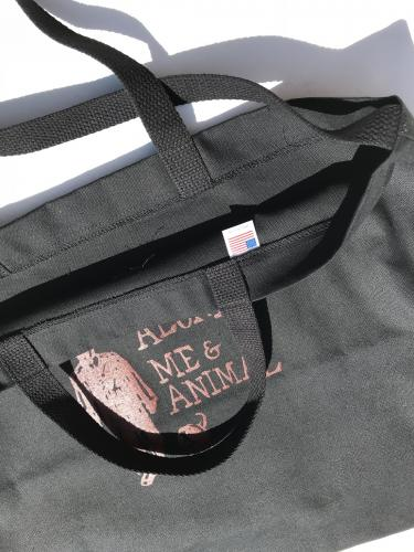 Carry All Tote w/ Strap (Alone. Me & Animal)