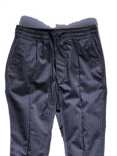 【the conspires】 Striped UT Pant (Navy)