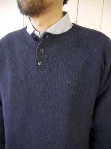 HENLEY NECK  (New Navy)